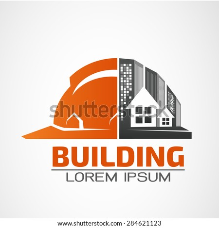 Construction logo stock images royalty free images for House construction companies