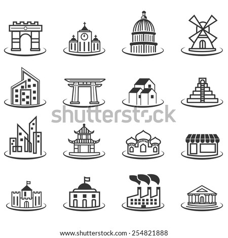 building pack - stock vector