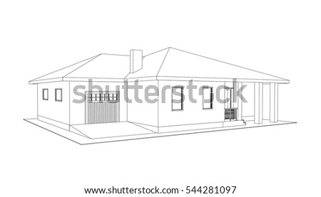 House Blueprint Stock Images Royalty Free Images