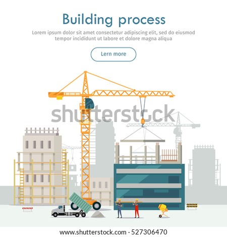 Lift panel stock images royalty free images vectors for New construction building process