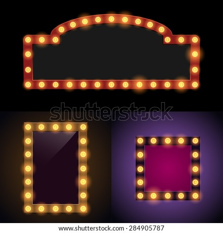 Marquee Lights Stock Images, Royalty-Free Images & Vectors ...