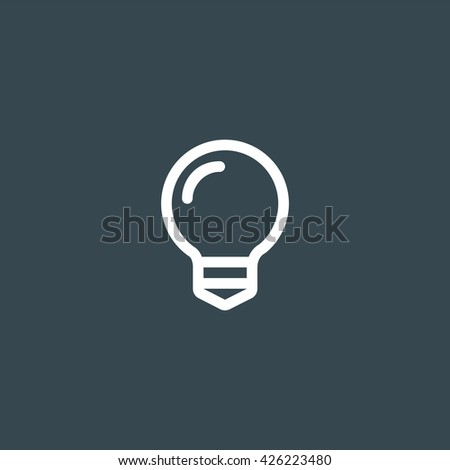 Bulb Icon, Bulb Icon Eps10, Bulb Icon Vector, Bulb Icon Eps, Bulb Icon Jpg, Bulb Icon Picture, Bulb Icon Flat, Bulb Icon App, Bulb Icon Web, Bulb Icon Art, Bulb Icon Object - stock vector