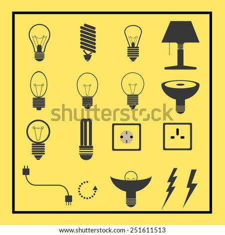 bulbs and electric collection set