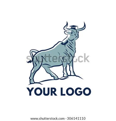 Bull - stock vector