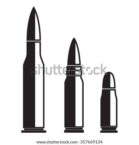 Bullet icons set isolated on white background. Vector illustration of various bullets.