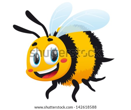 Bumble Bee - stock vector