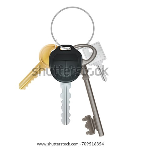 Key box stock images royalty free images vectors for Classic house keys
