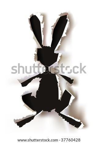 Bunny - stock vector