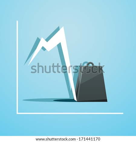 Burden of business - stock vector