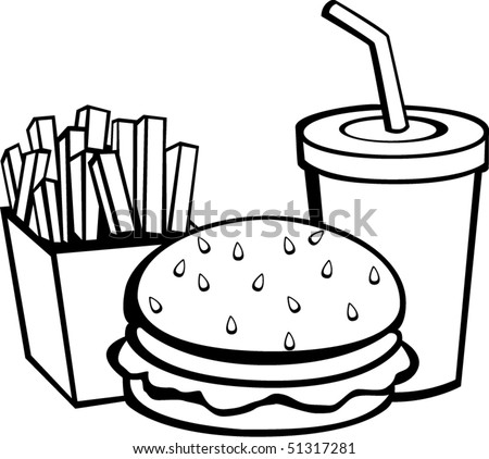 hamburger bun coloring page - photo #34