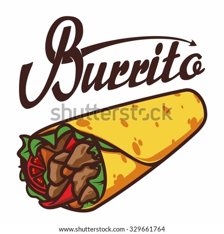Breakfast Burrito Stock Vectors, Images & Vector Art | Shutterstock