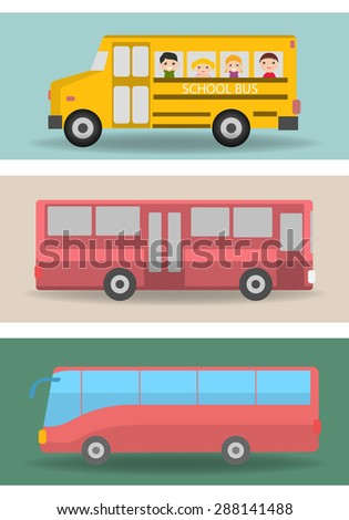 Bus - stock vector