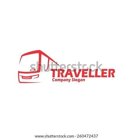 bus transport company logo