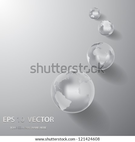 business abstract background - vector illustration - stock vector