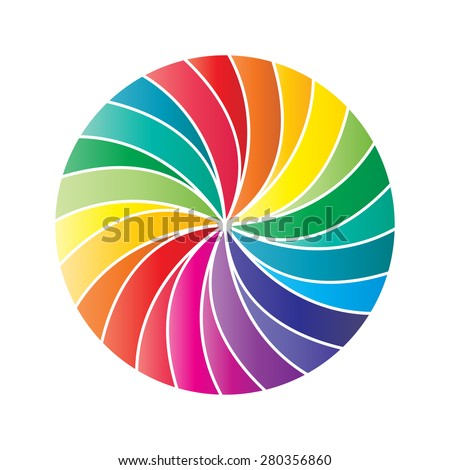 Business Abstract Circle icon, Vector Illustration.