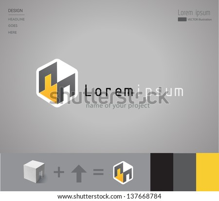 Business. abstract corporate icon. logo template. Vector illustration/eps 10 - stock vector