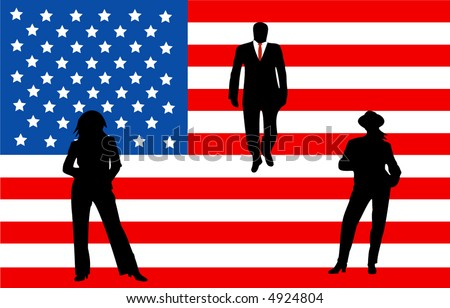 business american flag