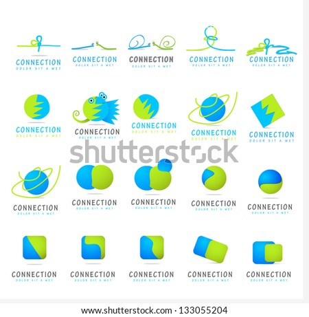 Business And Cartoon Icons - Set - Isolated On White Background - Vector Illustration, Graphic Design Editable For Your Design. Business Logo - stock vector