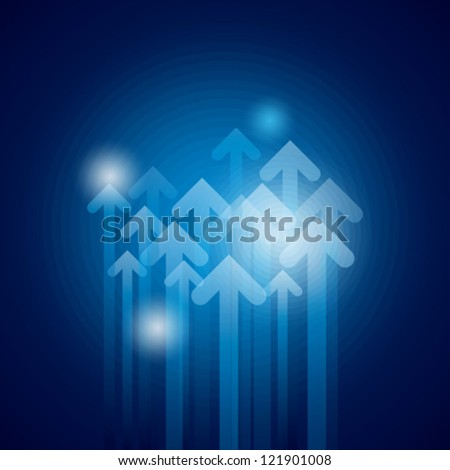 Business arrows concept - stock vector
