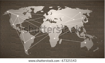 Business background - stock vector