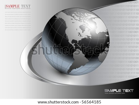 business background dynamic grey. Vector illustration. - stock vector