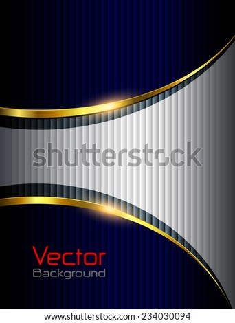 Business background, elegant vector illustration. - stock vector