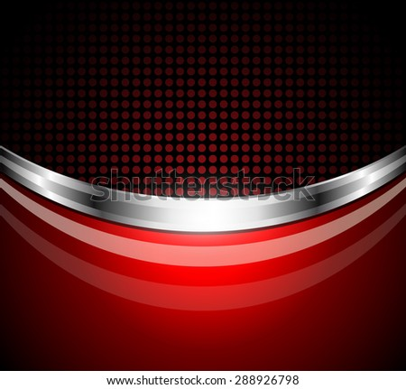 Business background red;  elegant vector illustration. - stock vector
