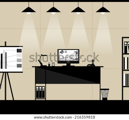 Business background. Vector eps 10 - stock vector