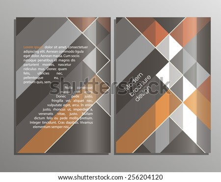 Business background. Vector template. Poster. Vector Business Flyer. Modern Brochure Design. EPS 10 - stock vector