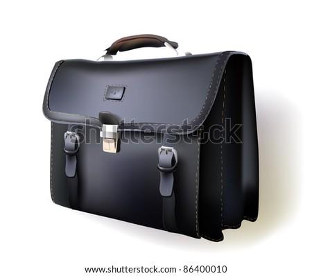 business bag - stock vector
