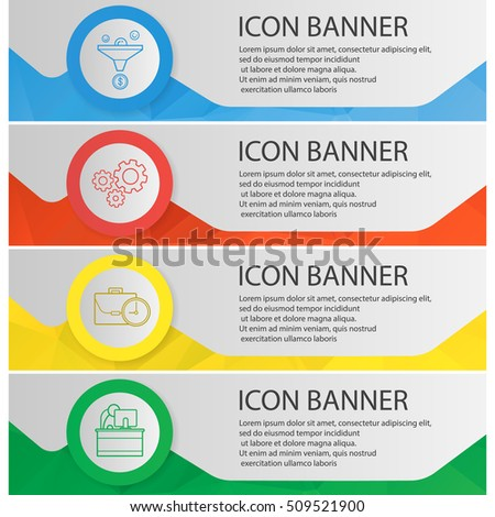 office banner template