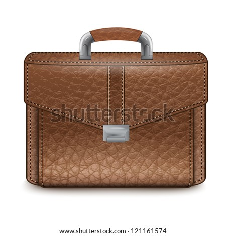 Business  Briefcase.Vector.