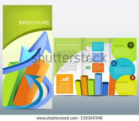 Business brochure - stock vector