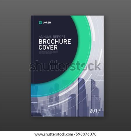 business vector set brochure template layout stock vector