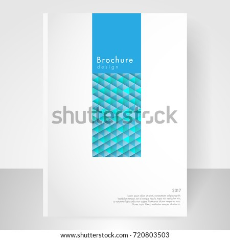 Business brochure cover template cover design stock vector 720803503 business brochure cover template cover design annual report corporate booklet business card reheart Gallery