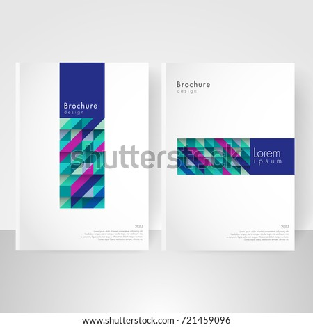 Business brochure cover template cover design stock vector 721459096 business brochure cover template cover design annual report corporate booklet business card reheart Gallery