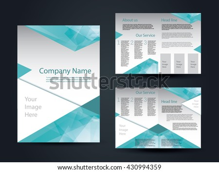 Business Brochure Design Layout Template A4 Stock Vector Hd Royalty