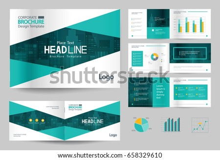Business brochure design template page layout stock vector royalty business brochure design template and page layout for company profile annual reportwith page accmission Choice Image