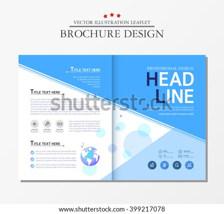 Business Brochure, earth.