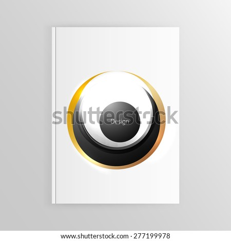 Business brochure, flyer or cover template design vector