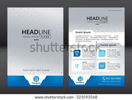 Company Brochure Template Stock Images RoyaltyFree Images - Company brochure template