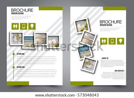 Booklet Template Photos RoyaltyFree Images and Vectors – Advertising Brochure Template