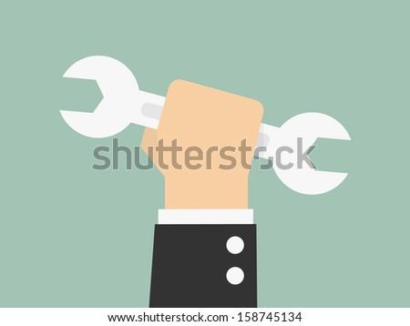 Business Builder - stock vector