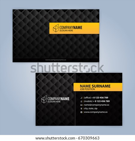 Business card design templates luxury graphic stock vector 670309663 business card design templates luxury graphic design cheaphphosting Image collections