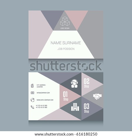 Business card designs easy adapt business stock vector 616180250 business card designs easy to adapt business vector set colourmoves