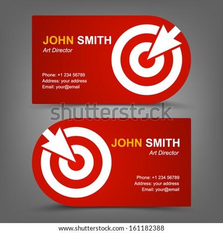 Business Card Coffee Stock Vector 154630778 - Shutterstock