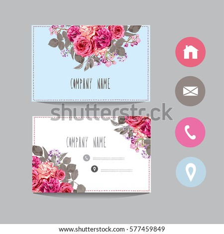 Business card template design element can stock vector 577459849 business card template design element can be used also for greeting cards banners m4hsunfo