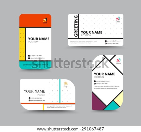 Business card template name card design stock vector royalty free business card template name card design stock vector royalty free 291067487 shutterstock fbccfo Choice Image