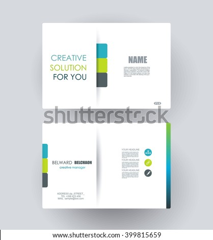 Business cards design vector template layout stock vector hd business cards design vector template layout reheart Gallery