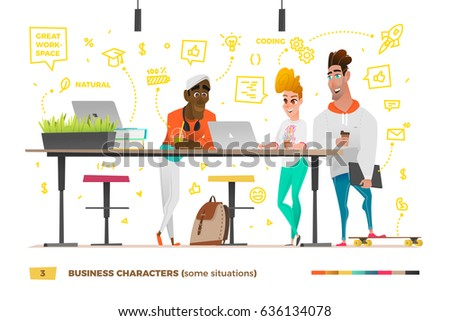 Cu678 work in a business environment